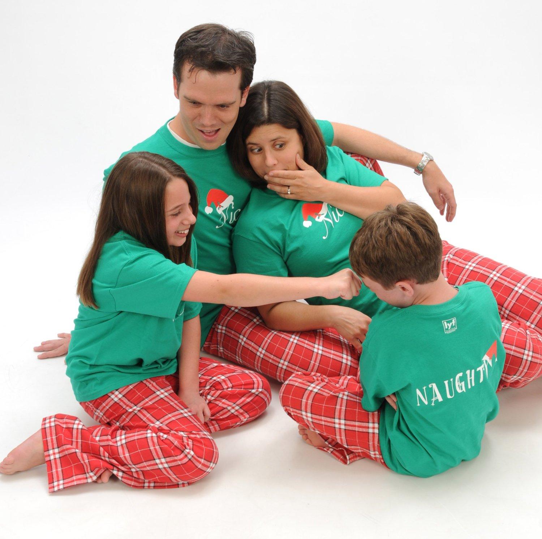 christmas family pajamas