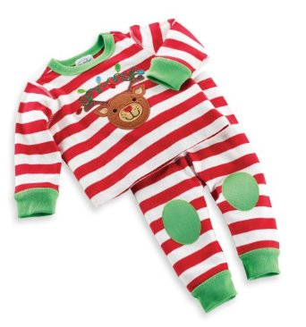 christmas baby pajamas