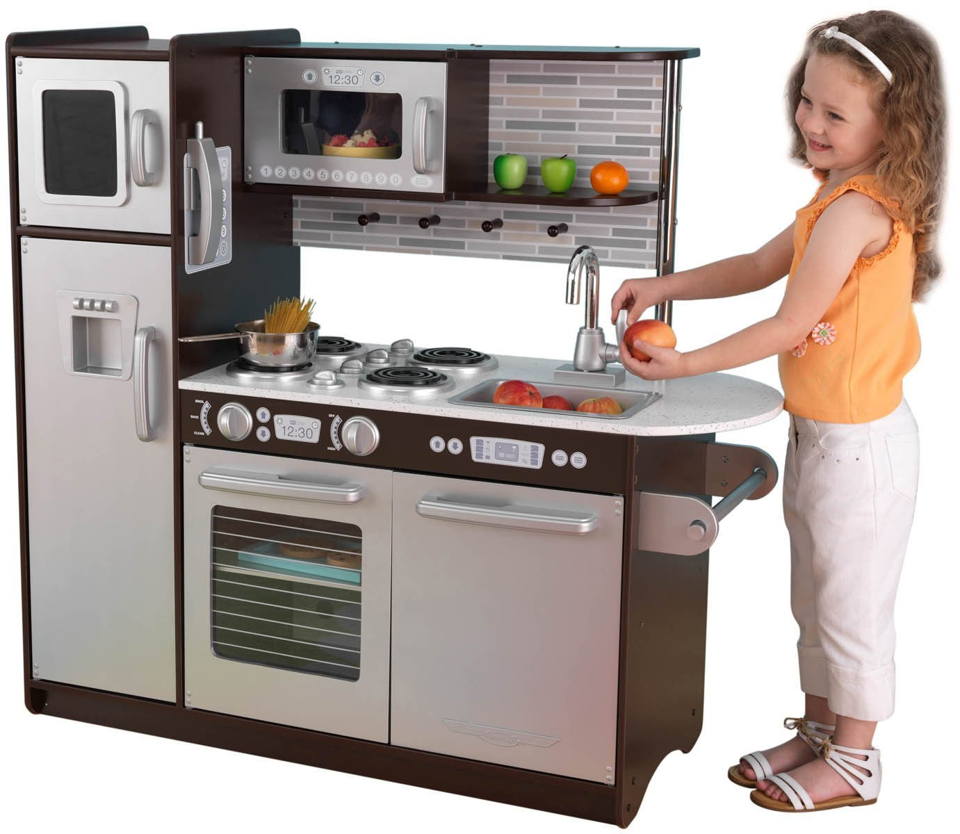 Kitchen playsets classy baby gear for Kitchen set for 7 year old