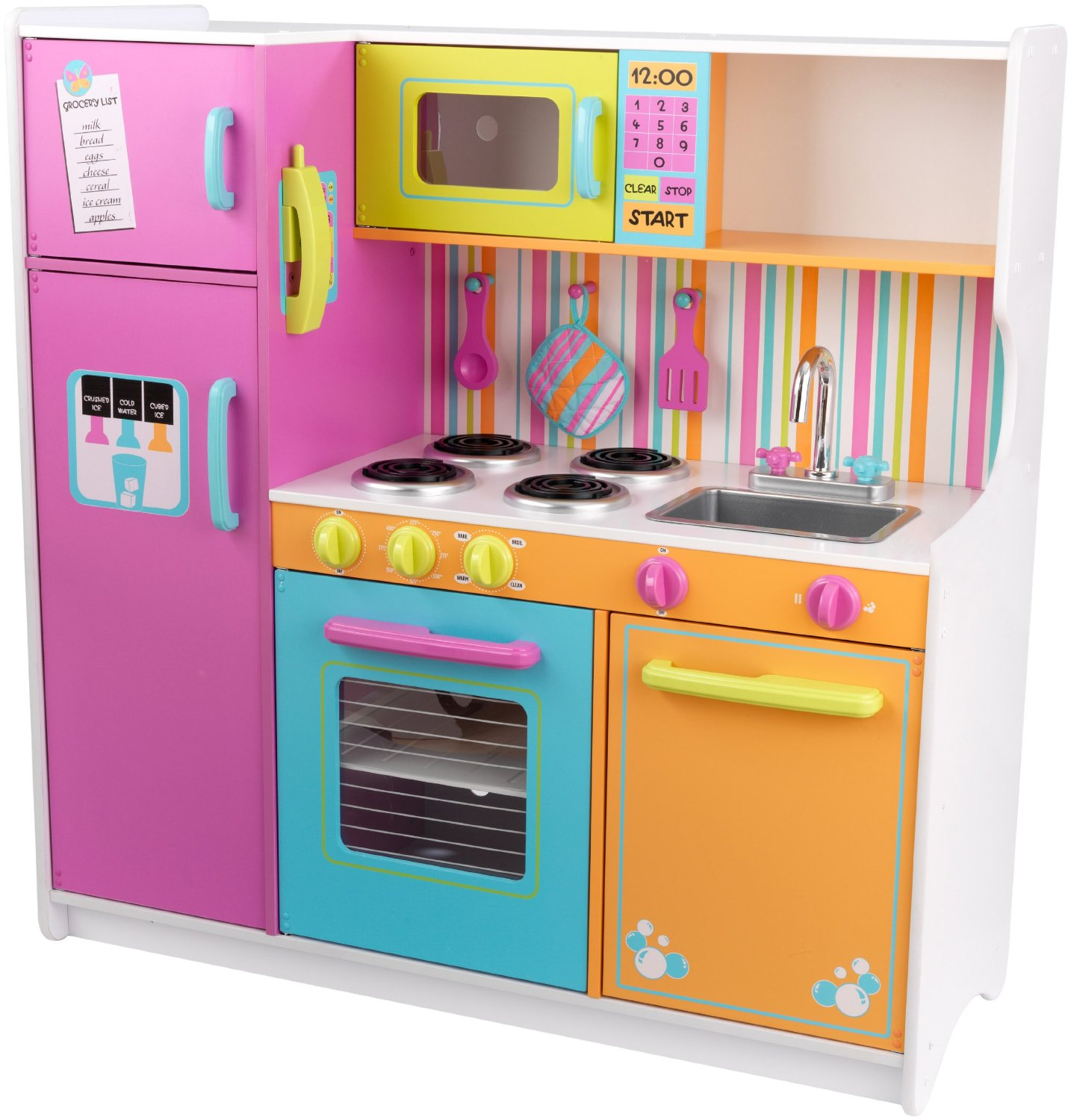 Kitchen set toys classy baby gear for Toy kitchen set