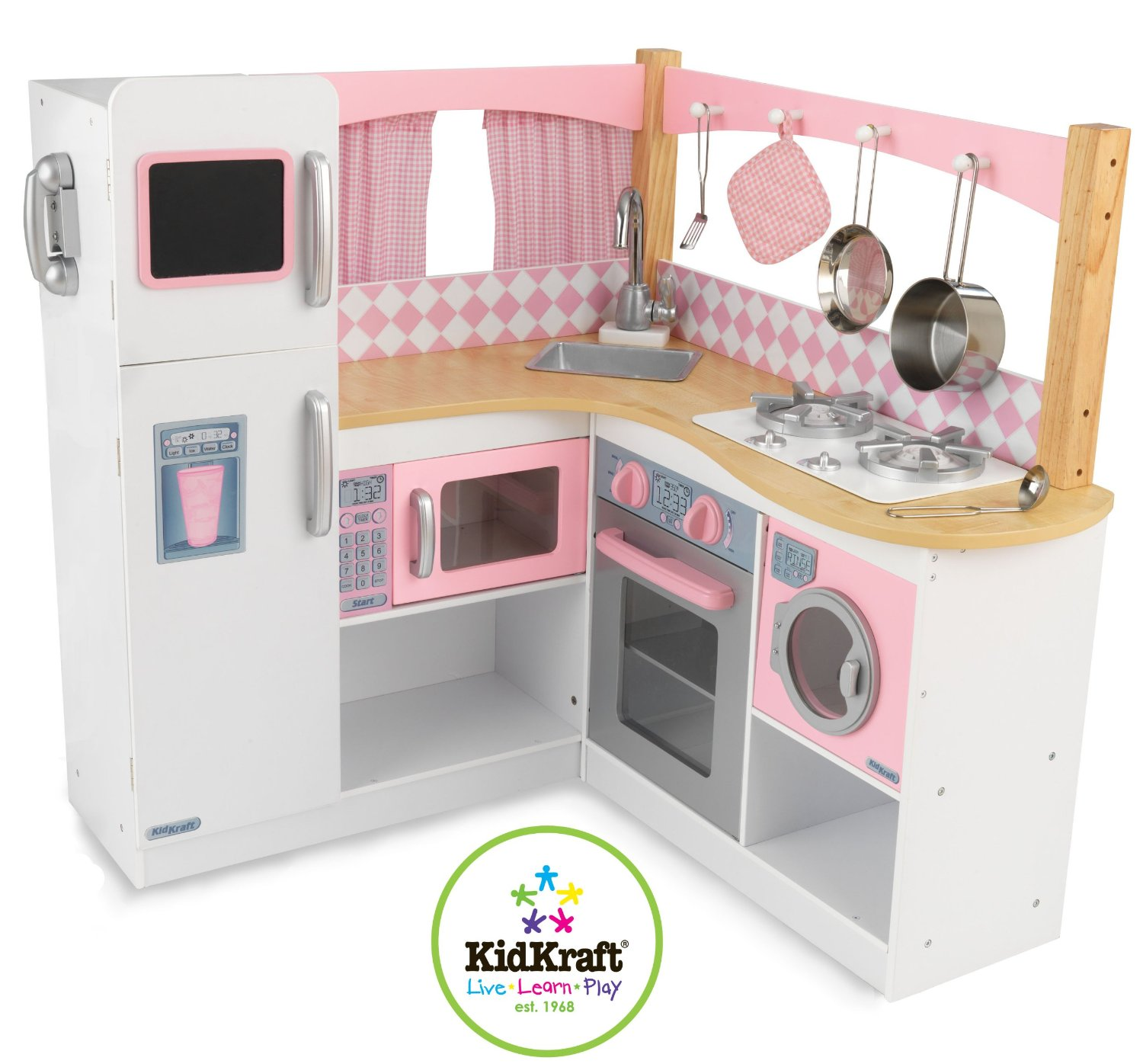 Kids kitchen playsets classy baby gear for Kitchen set for babies