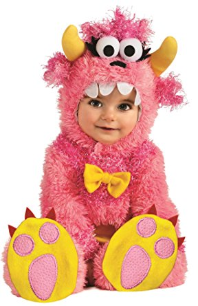 baby girl monster halloween costume