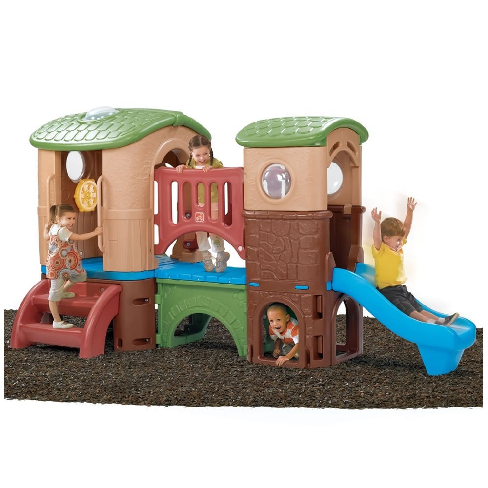 Toddler Playhouse with Slide