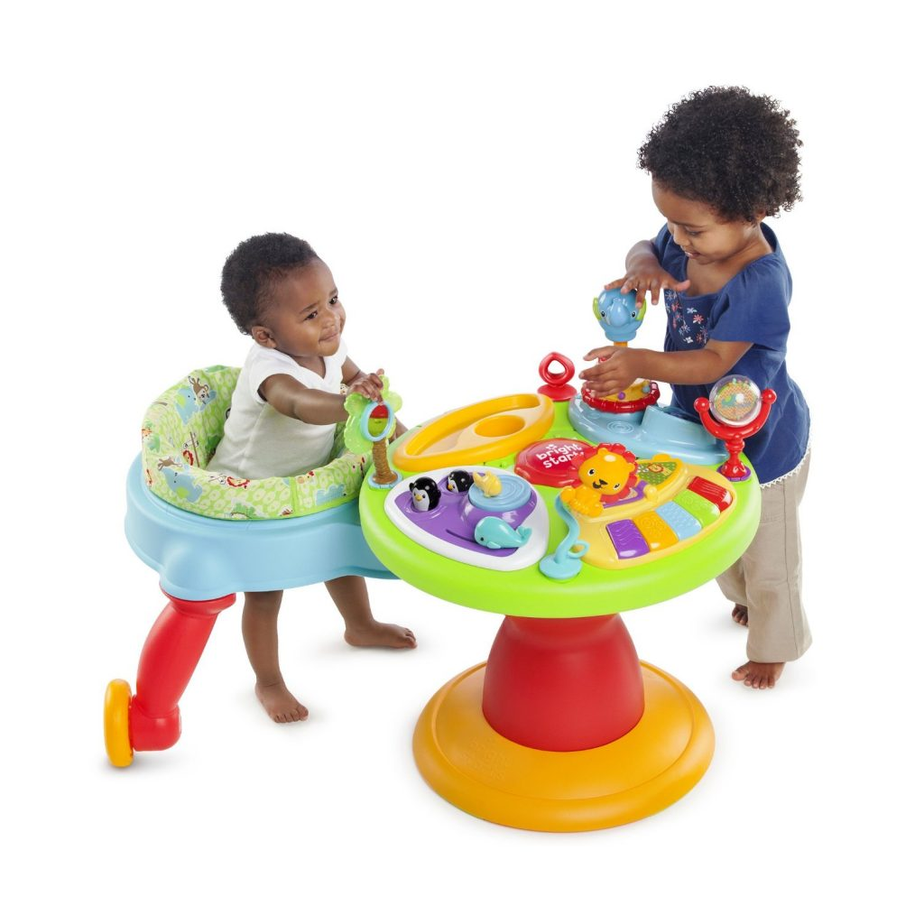 bright starts around we go activity center reviews